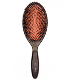 LESS IS MORE OVAL BRUSH - WILD BOAR BRISTLE + NYLON - OVAALI HIUSHARJA NYLON + VILLISIANKARVA